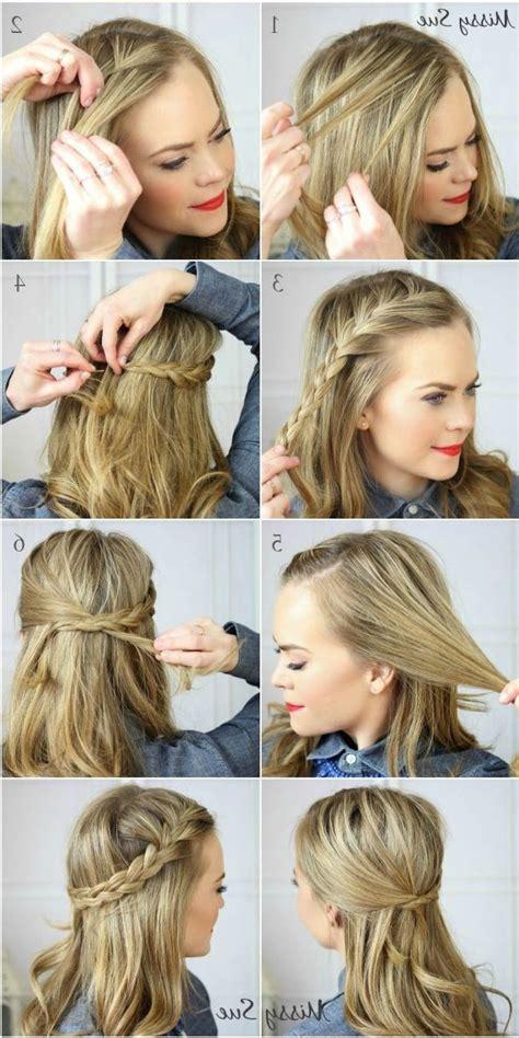 easy medium hairstyles for thick hair 24 wonderful easy hairstyles for thick hair easy hairstyle for medium length thick hair 7