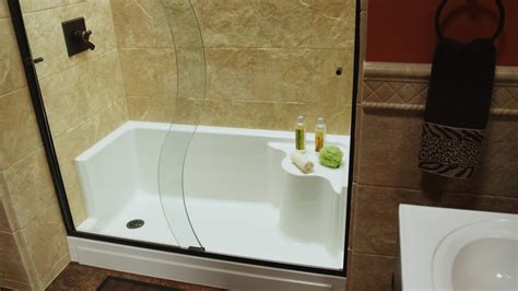 convert bathtub into walk in shower tub to shower conversion the refreshing remodelbathroom