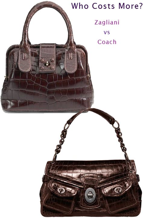 Who Costs More Zagliani Purse Vs Coach Bag who costs more zagliani purse vs coach bag
