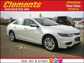 Clements Chevrolet Rochester New Chevrolet Malibu For Sale In Rochester Mn Cars