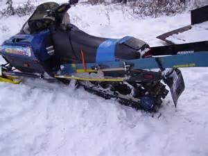 really real ski rack for snowmobile