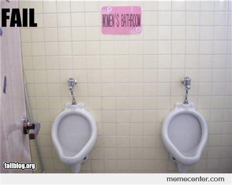 bathroom fail women s bathroom fail by ben meme center