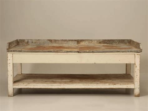 vintage potting bench for sale antique american potting bench in original paint for sale