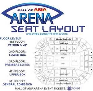 Mall Of Asia Floor Plan by Mall Of Asia Arena Manila Concert Scene