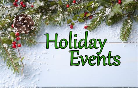 holiday events this week sunny 99 1