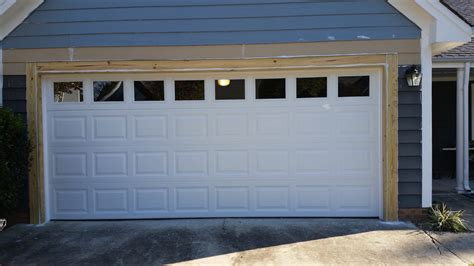 How To Frame A Garage Door by South Residential Garage Door Framing Repair