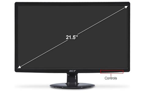 two acer s211hl bd 22 class led monitors and planar as2 997 5253 00 dual monitor stand up to 24