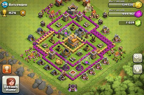 coc edit layout th7 coc th7 base share base layouts bhl gaming