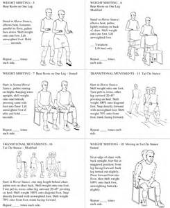 lower extremity home exercise program pictures to pin on