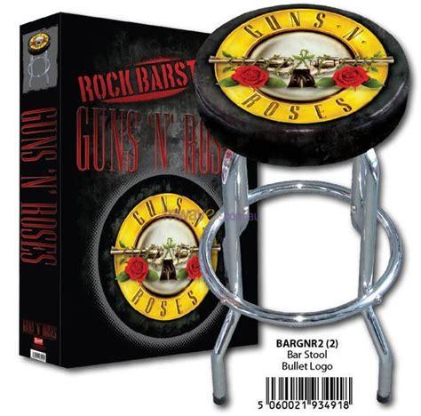 Gun Logo Bar Stools by Guns N Roses Gnr Logo Bar Stool Hmbbargnr2 Mwave Au