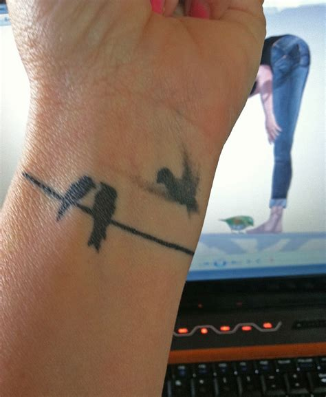 small love bird tattoos small bird wrist 187 ideas