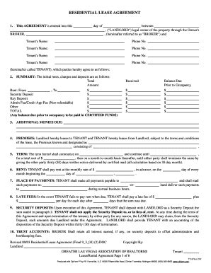 Apartment Owners Association Of Nevada Rental Agreement Nevada Fill Printable Fillable