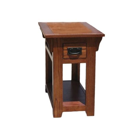Oak Kitchen Carts And Islands by Od O M251 Mission Oak Chairside End Table