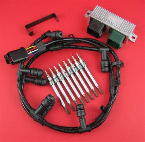 ford 6 0 glow plugs 6 0l powerstroke glow kit dg