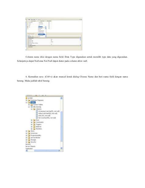 membuat database sql membuat database menggunakan sql management studio