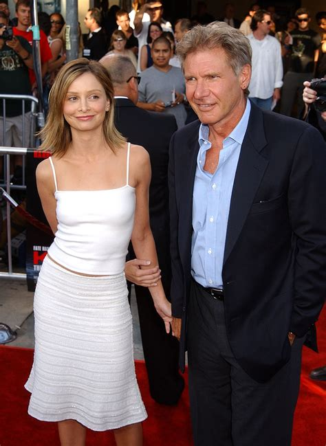 Calista Flockhart And Harrison Ford by Calista Flockhart Gushes About Seven Year Marriage To