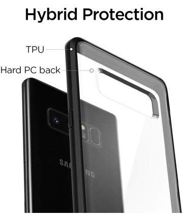 Spigen Ultra Hybrid Black Galaxy Note 8 spigen ultra hybrid samsung galaxy note 8 matte black