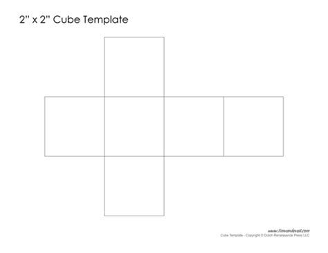 How To Make A Cube Out Of Paper - tim de vall printable paper cube template learn