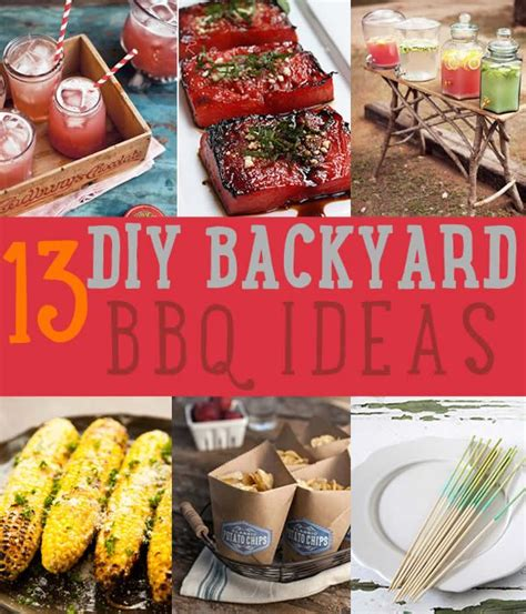 107 Best Images About Bbq Party On Pinterest Backyard Backyard Bbq Menu Ideas