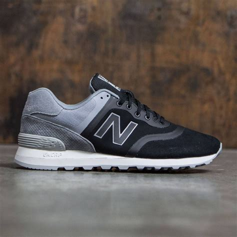 Newbalance For 574 new balance 574 re engineered suede mtl574dc black grey
