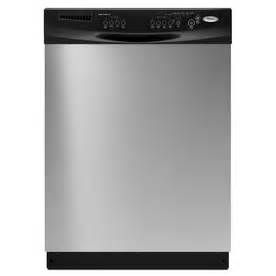 Lowes Dishwashers Shop Whirlpool 60 Decibel Built In Dishwasher With