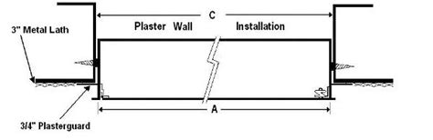 typical concealed flush ceiling extractor by air uno tme access panels for plaster walls ceilings with
