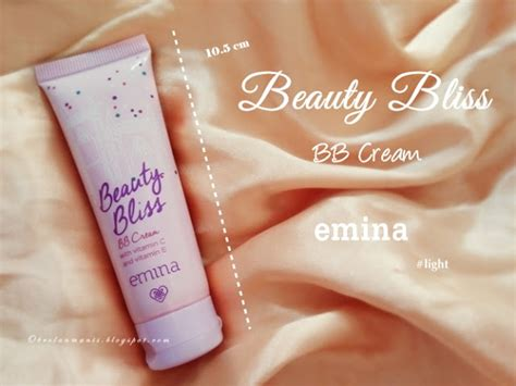 Pelembab Emina review emina bliss bb light