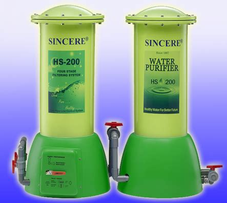 Jual Sincere Water Purifier Hs 300 by Water Filter Sincere Water Purifier Penjernih Air Dengan
