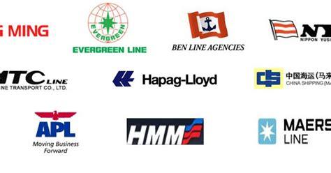 list  companies   sea air transportation