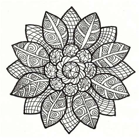 mandala coloring pages for relaxation cool sun drawings cliparts co
