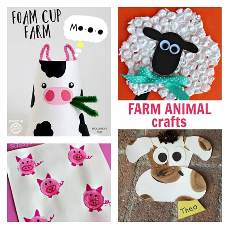 farm crafts for myttons farm crafts for toddlers
