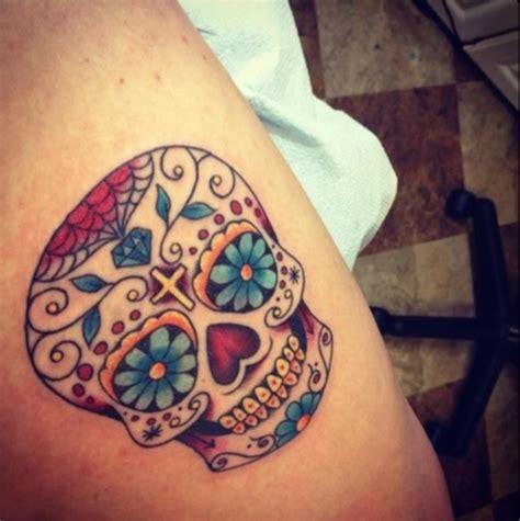 138 Cool Sugar Skull Tattoos Sugar Skull Tattoos