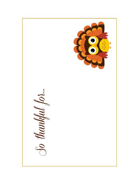 Thanksgiving Card Template For by Thanksgiving Card Template 5 Free Templates In Pdf Word