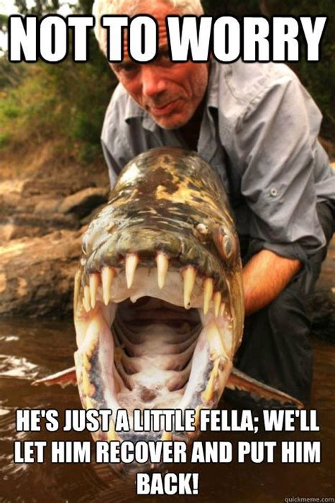 Monster Meme - quot river monsters meme quot thank god for tv pinterest