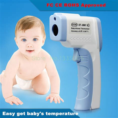 lcd non contact ir laser gun infrared digital thermometer baby thermometers children