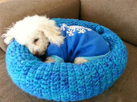 dog bed patterns crochet patterns pet beds creatys for