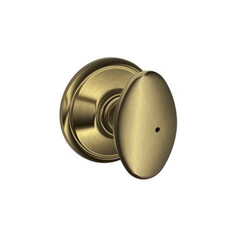 Schlage Door Knobs Schlage F40 Sie F Series Siena Privacy Door Knob Set