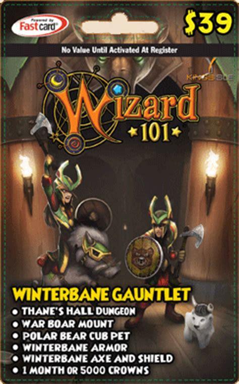 item winterbane gauntlet gift card wizard101 wiki - Winterbane Gauntlet Gift Card