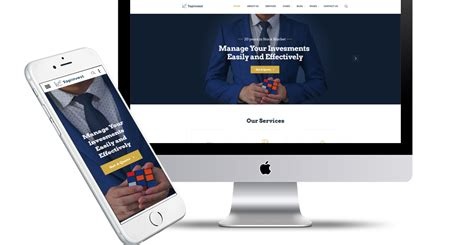 Holding Company Website Template by Holding Company Website Template