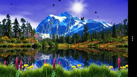 mountain lake  wallpaper android apps  google play