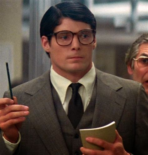 christopher reeve as clark kent the legion of super happy birthday clark kent
