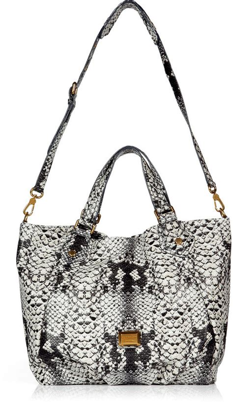 Temperley Gigi Snake Print Tote by Kate Moss In With Tulips Pictures Popsugar Fashion