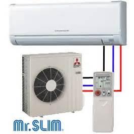 Mitsubishi Mr Slim Compressor Mitsubishi Mr Slim 1 5 Ton 19 2 Seer Msy Muy Ge18na