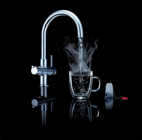 Water Is From Faucet by Grohe Boiling Water Faucet