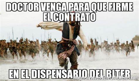 imagenes de jack sparrow con frases en español doctor venga para que firme el contrato en el dispensario