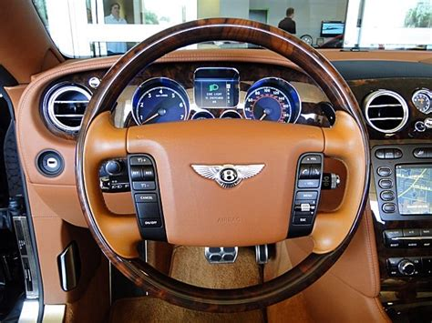 bentley steering wheels 2007 bentley continental gt gtc