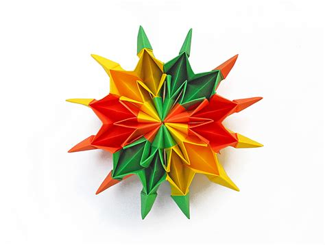 Origami Firecracker - origami origami en movimiento fireworks