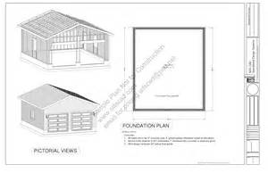 pdf garage blueprints free plans for garages with loft how shed work