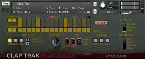 kontakt 3 full version download cinematique instruments clap trak