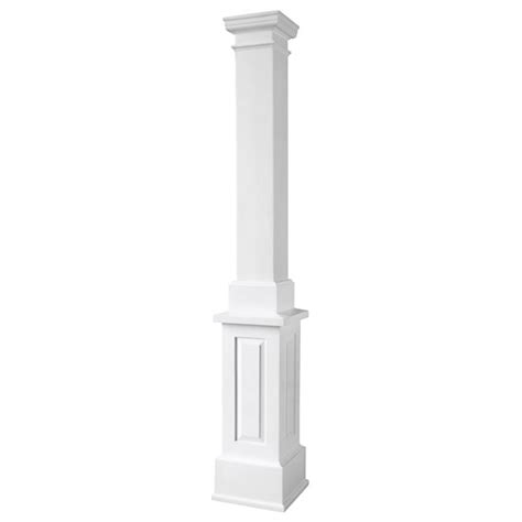 decorative columns home depot line drawing